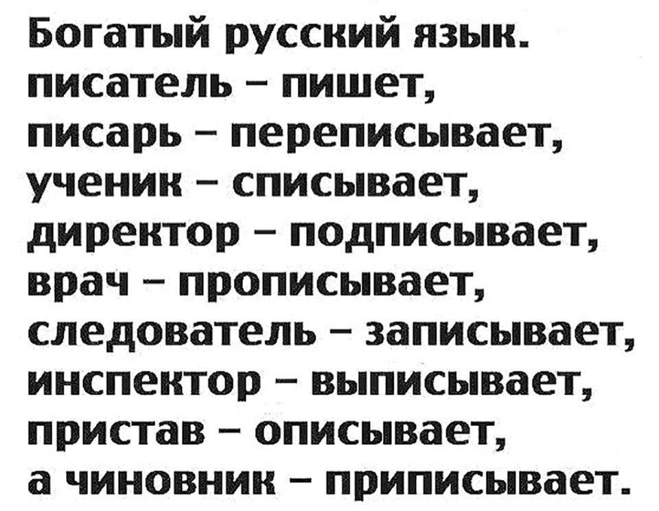 Фото дню, великий русский язык картинки приколы